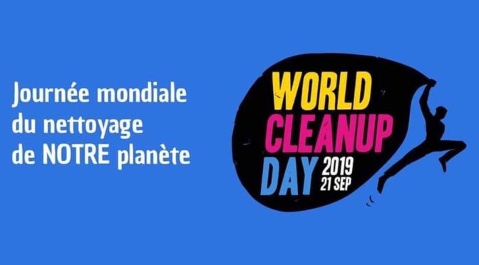 World Clean Up Day à ROCHEFORT